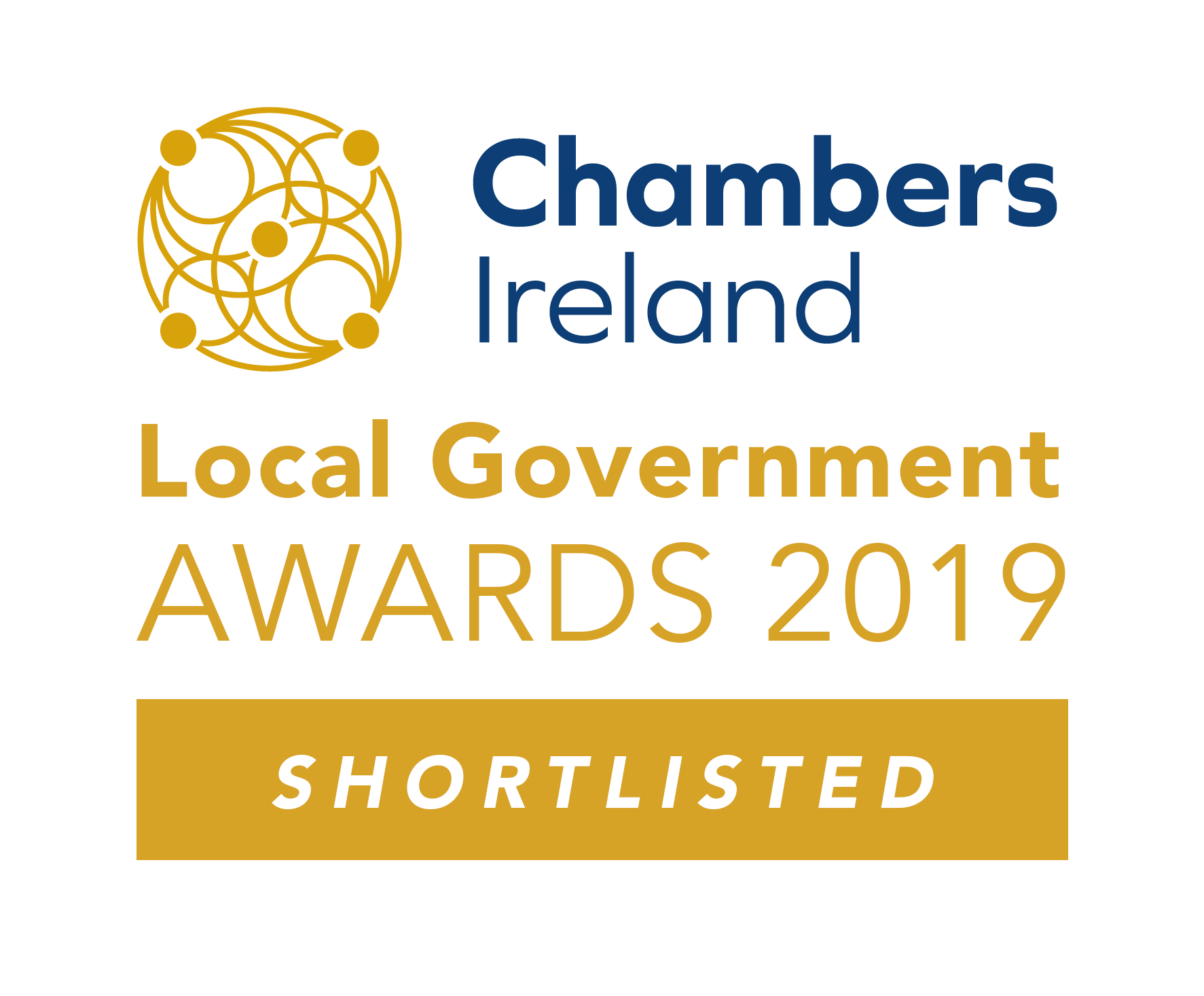 Chambers Excellence in Local Govt Awards 2019 - Shortlisted Badge